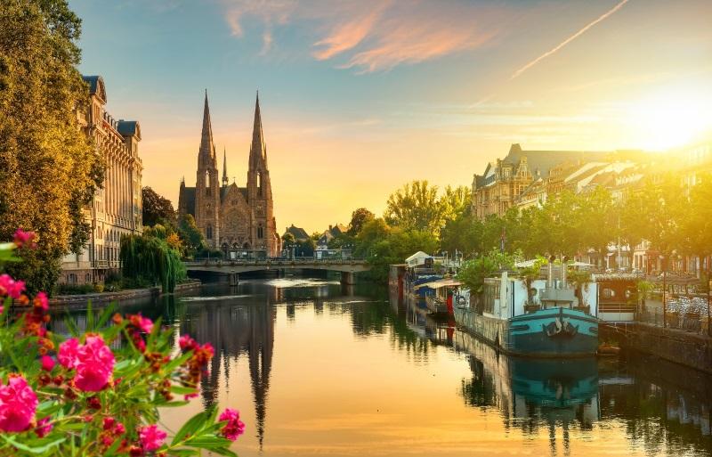 Livraison de bouquets de fleurs à Strasbourg